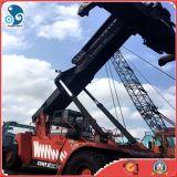 Fantuzzi apilador del alcance de 45 toneladas para los envases de equipo usado del almacenaje del apilador del alcance