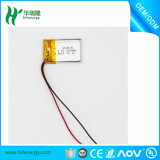 603040 Li Plastik-Batterie 3.7V 650mAh für elektrische Armbanduhr