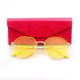 Солнечные очки ясных цветастых объективов способа Unisex новые (YJ-F83887)