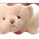 Brinquedos de pelúcia de ursinho com asas de anjo