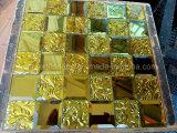 Het gouden Mozaïek van de Spiegel van de Diamant van de Tegel van het Mozaïek (HD043)