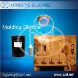 A borracha de silicone líquida para a gipsita ata o molde