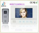 7 pulgadas de seguridad doméstica de la Intercom Timbre Doorphone interfono con la cámara de vídeo