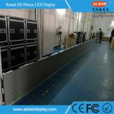 Placa de tela ao ar livre do diodo emissor de luz do arrendamento de SMD P6 para anunciar
