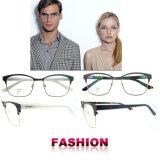 Lunetterie en gros de coutume de bâtis en verre de modèles neufs de lunettes