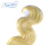 Estensioni superiori del Blonde dei capelli umani di Remy dell'onda del corpo 1b 613