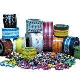 Toque em PVC transparente filme / Película de torção de PVC METALIZADO
