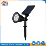 Nachladbares LED Garten-Licht des Polysilicon-1.5With5.5V