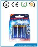 Batería alcalina de tamaño AA Lr6