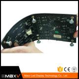 실린더와 Cirular를 위한 유연한 LED 스크린 위원회 P4 P5 P6 P8 P10 실내 RGB 풀 컬러 연약한 발광 다이오드 표시 위원회