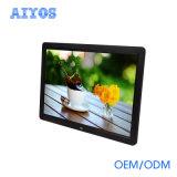 고품질 14 인치 HD LCD 디지털 사진 프레임