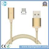 Зазор Распродажа! ! ! Универсальный нейлоновые экранирующая оплетка кабеля передача данных магнитной зарядное устройство USB для Android