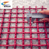 Red Coat Woven Wire Mesh Used one Vibrating Screen