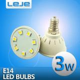 3W E14 Питание лампы фонаря направленного света светодиодная лампа для поверхностного монтажа 7LED5050