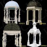 Gazebo del giardino, Gazebo di marmo, Gazebo di pietra (TZS0010, TZS0003, TZP0002)