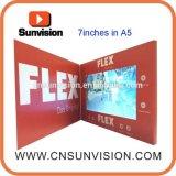"""LCD de 7"""" de fornecimento de fábrica Cartão Mailer Brochura de Vídeo Empresarial"""