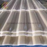 1.2mm FRP 섬유유리 스카이라이트 물결 모양 지붕 위원회