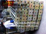 Оцинкованный тяжелых работ бетонную плиту стальные опоры