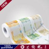 Fabrik-Großhandelseurohaushaltplan-gedrucktes Toilettenpapier