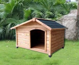 Camera dell'animale domestico/fossa di scolo impermeabili di legno del cane