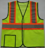 Veste reflexiva da segurança do Workwear elevado da visibilidade