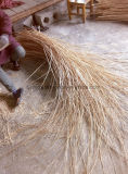 Rustikaler Moos-und Reisig-Patchwork-hängender Korb