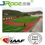 trilhas atléticas da trilha 400meter Running padrão que funcionam materiais da maneira
