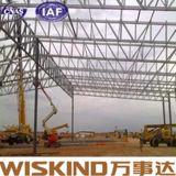 Material de construcción ligero prefabricado profesional de la estructura de azotea del calibrador