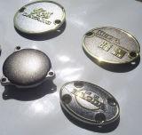 Emblème en métal de Cusotmized et étiquette, collant en métal, collant en alliage de zinc