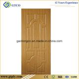 820X2150X3mm Melamin geformte HDF Haut-Tür für Interiro Türen