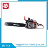 58cc는 공장 가격 작은 가스 휴대용 동력 사슬 톱 사슬 가격 5818를 지시한다