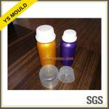 Pilule bouteille et bouchon de vase de moule en plastique