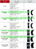 OEM 335 420 43 20/335 420 42 20/3354204320/3354204220のベンツまたは人の鋳造のブレーキ片