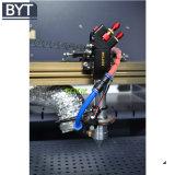 Bytcnc personalizza la macchina per incidere del laser del braccialetto del silicone di colore