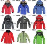 Les vestes de manteaux de plein air d'hiver