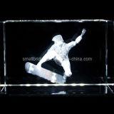 Patín cristalino 3D