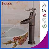 Fyeer de alta qualidade Antique Brass Waterfall Basin Faucet