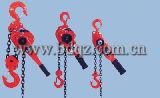 Polipasto de cadena de la palanca de HSH 0,75 t*3m grúa Manual, elevador de cadena