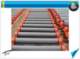 La minería del carbón de la polea de transportador de correa