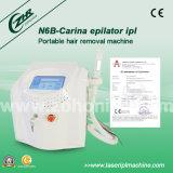 IPL Depilationレーザーの毛の取り外し機械(N6+B Carina)