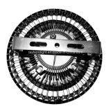 Lâmpada elevada 150W do louro do diodo emissor de luz da indução do UFO de Meanwell com 120degree