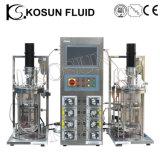20L 30L 50L de aço inoxidável e vidro fermentador Biorreator Industriais