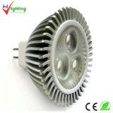 3W MR16 LED 스포트라이트, 크리 사람 LED 반점 램프 (MR16-3X1W-YL1203)
