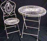 金属のテーブルおよび椅子(XF8000)