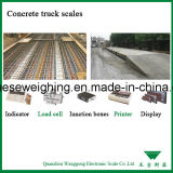 Escalas de camiones para Transporte de Contenedores de pesaje
