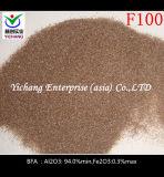 표면 처리를 위한 브라운 알루미늄 산화물