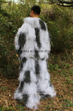 Костюм Ghillie маскировочной одежды снежка