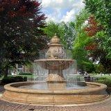 Décoration marbre naturel en plein air Fontaine à eau (GSF-148)