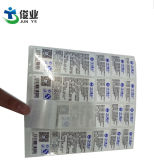 Прозрачный BOPP клейкой этикетки печать этикетки для шампуня водонепроницаемый