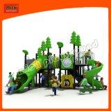 Новой темой джунглей игровая площадка на открытом воздухе слайдов